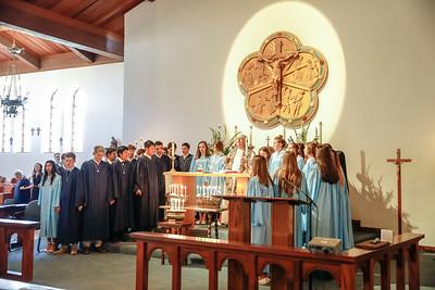 Grade 8 Baccalaureate Mass