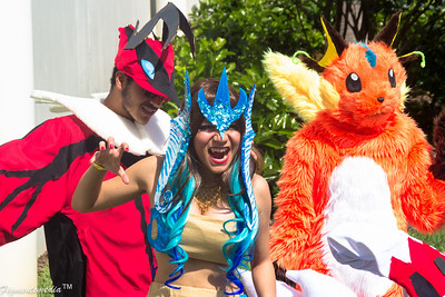 Pokemon Mega Photoshoot