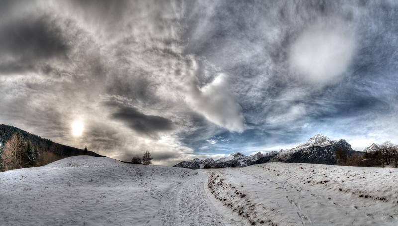 Morning - Andalo, Trento, Italy - December 28, 2014