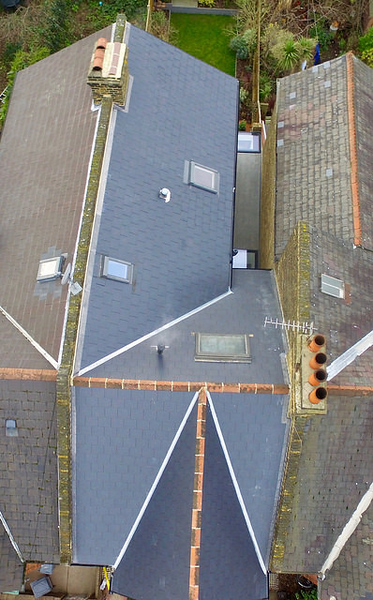 Slate Roof - Synthetic