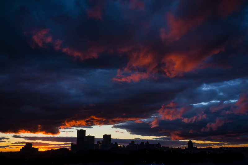 October 9 - Sunset over Rochester.jpg