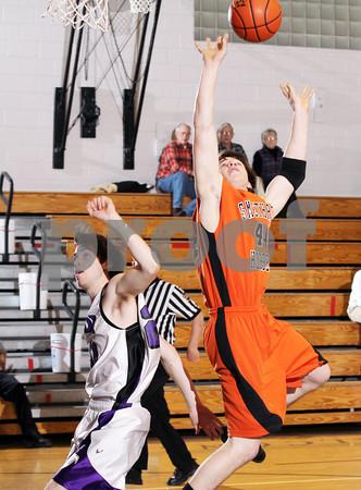 2012 Smethport Boys JV Basketball @ Coudersport