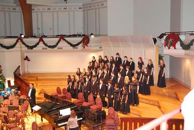 Christmas 2008 & Harrison's b'day & Holiday Choir