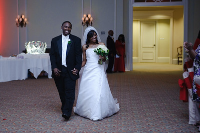 Monaque & Christopher Wedding - Reception