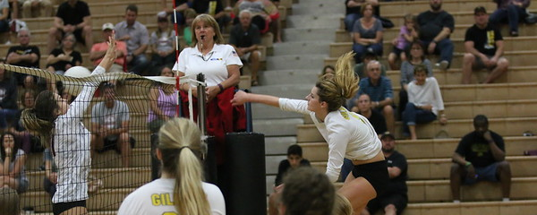2016 Gilbert Girls Volleyball vs Desert Ridge 9-27-16