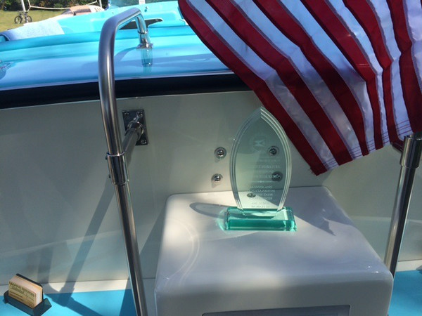 Won best in class at the Saint Clair boat show in June of 2014.