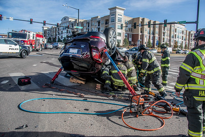 Lincoln Ave & Park Meadows Drive Extrication