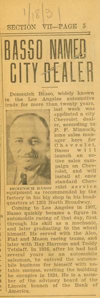 1931, Chevrolet City Dealer