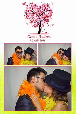 Matrimonio Lisa e Andrea - Photobooth con Fotocabina 8.07.2016 - Castello di Marne