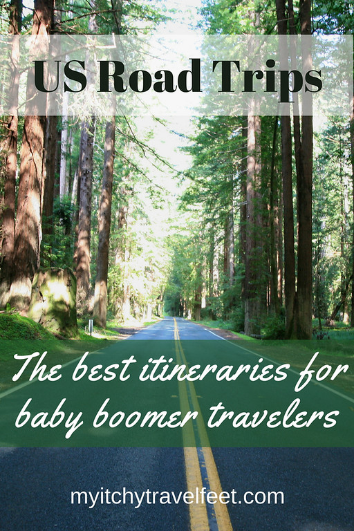 The best U.S. road trips for baby boomer travelers.