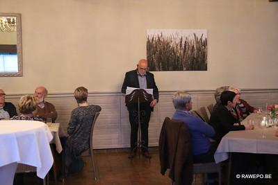 20170317 Diner afronding inventarisatie kerken Ravels