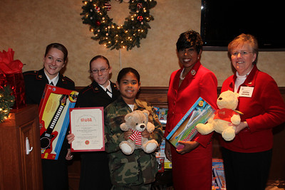 Woman Marine DC Chapter 1 Holiday Luncheon