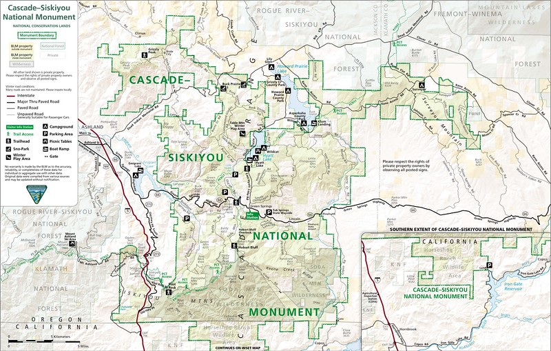 Cascade-Siskiyou National Monument