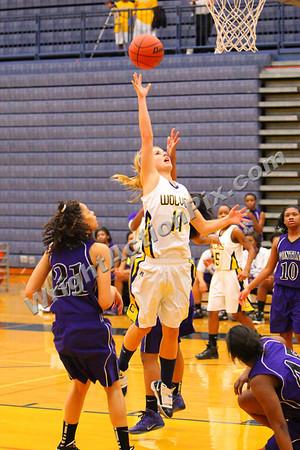 2012 01 27 Clarkston Varsity Girls Basketball vs Pontiac