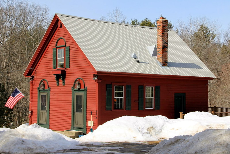 Old schoolhouse, Sweden, ME