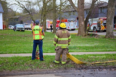 Structure Fire - N Buffalo St, Springville, NY - 4/29/20