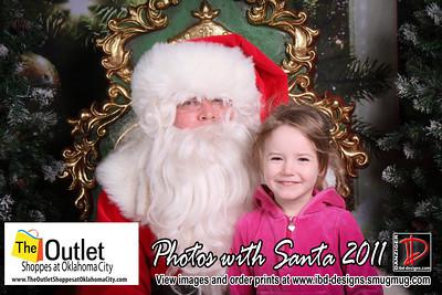 Outlet Shoppes at OKC Santa Photos 12-9-11