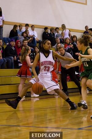 2009.01.30 - vs Charles Wright (Girls)