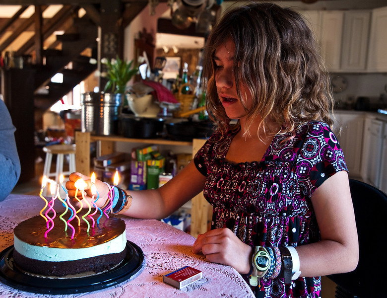 Elia turns 12, May 18th 2009.