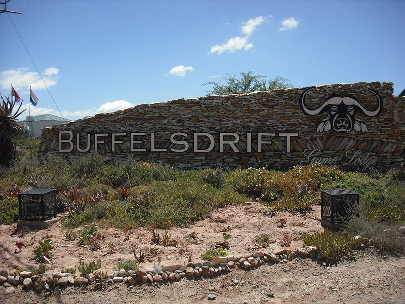 During our ten day camper trip we reserved Christmas Eve and Christmas day at a game lodge called Buffelsdrift.  We spent these two day in a luxury tent.  We did game drives and relaxed.