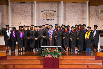 Center for Manifestation Church 2018 Graduation