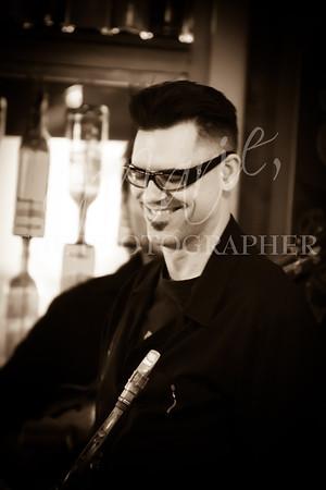 "Karl Hunter's Jazz ""Organ""ic Quartet at Squashed Grapes"