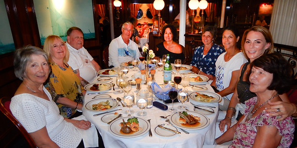 Part 4. Sailing, Socializing and Swimming on the Royal Clipper in the Caribbean.