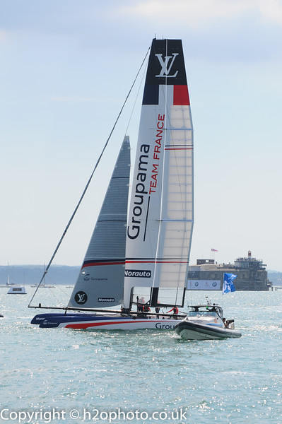 Americas Cup World Series (Portsmouth - 22-Jul-16)