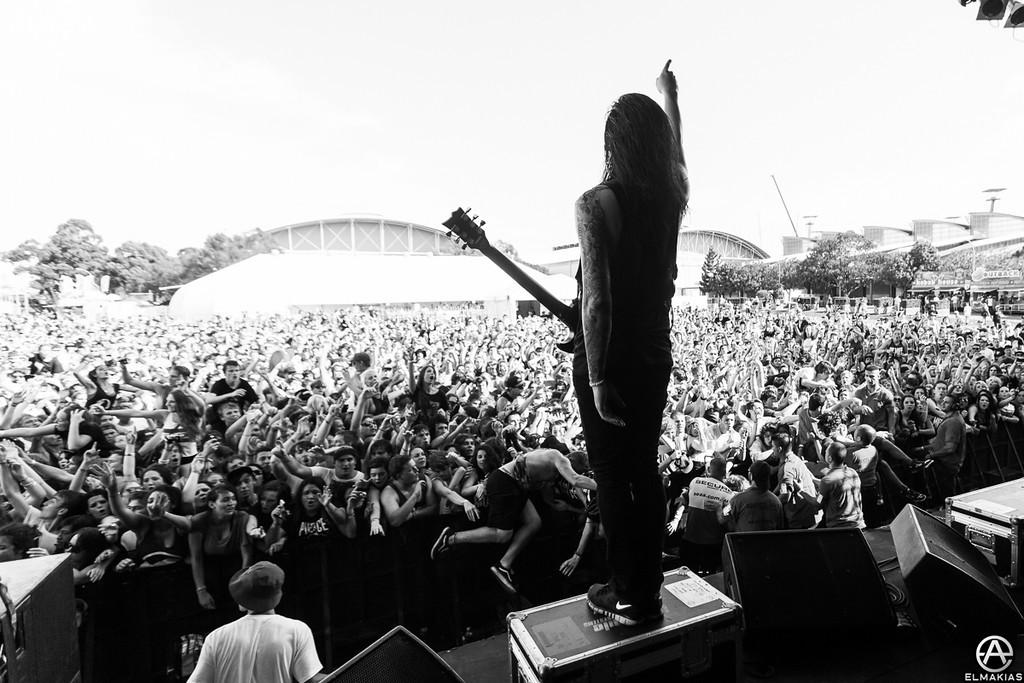 Phil Manansala - Soundwave Festival 2013