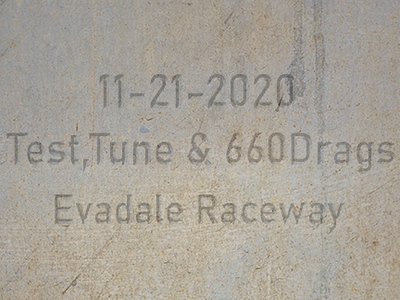 11-21-2020 Evadale Raceway 'Test, Tune & 660  Drag Racing