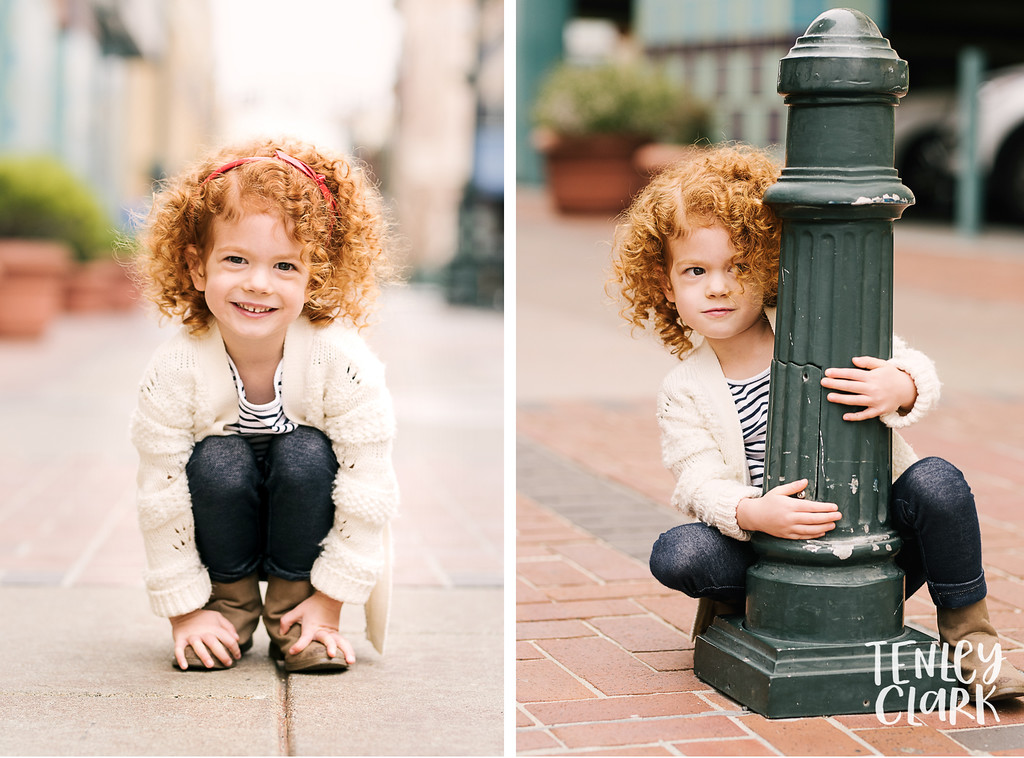 Bay Area kids model headshot portfolio session in Downtown San Mateo for Shortlist Models by Tenley Clark Photography