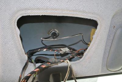 satellite radio antenna install