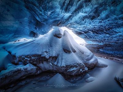 Glacier Ice Caves Iceland   Grutas de Gelo Islândia
