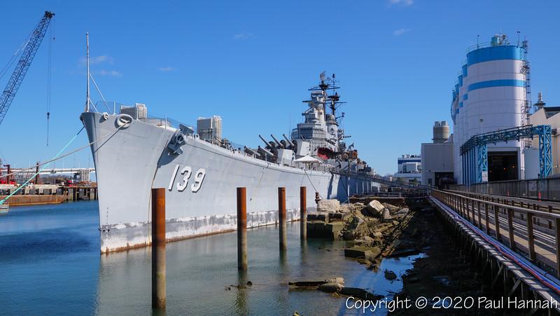 USS Salem (CA-139) Des Moines Class – Quincy, MA 2020