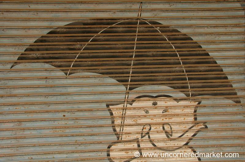 Elephant Umbrellas: Alleppey, India