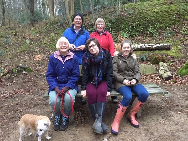 A walk in Hyning Wood