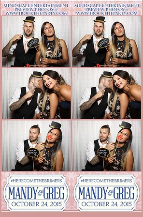 Mandy & Greg Brimer's Wedding II - Photo Booth Pictures