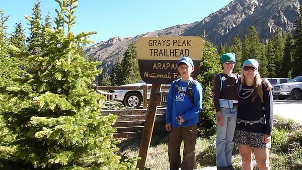 2010 Gray's 14K Peak Hiking Trip