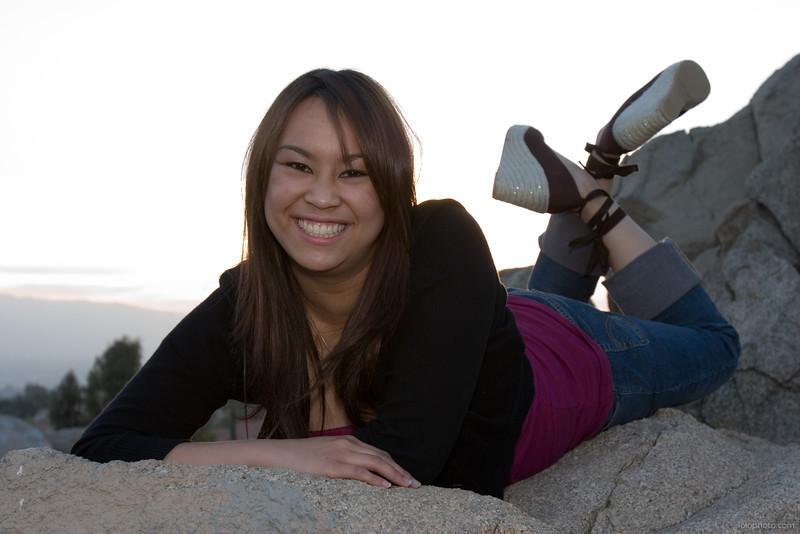 Kristine's Pre-Debut Park Photo Shoot