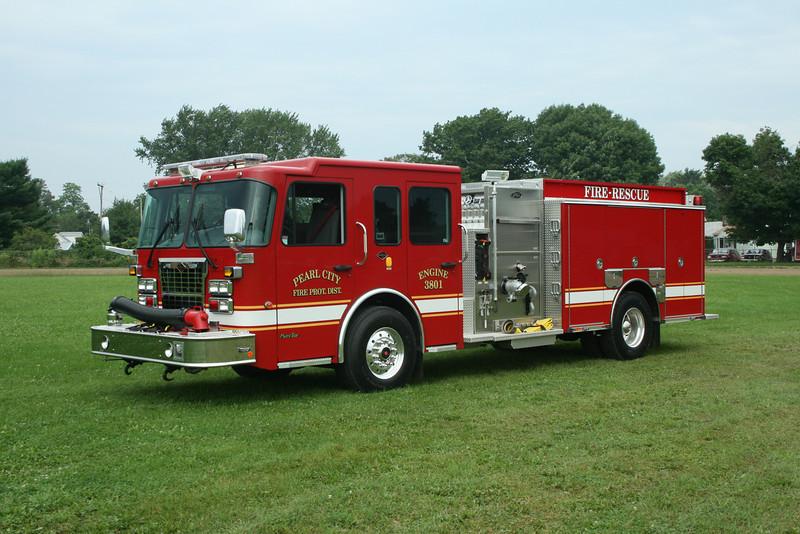 PEARL CITY FPD ENG.3801 SPARTAN / TOYNE  MONROE FIRE SCHOOL,WI