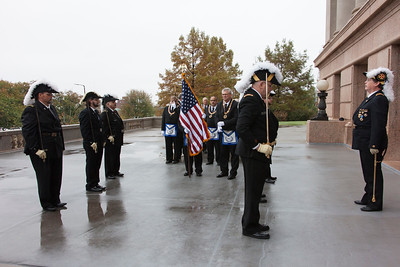 State Capitol Cornerstone Rededication