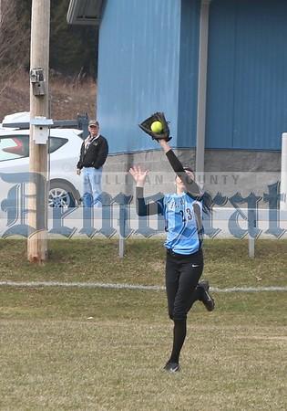 Sullivan West vs Fallsburg softball