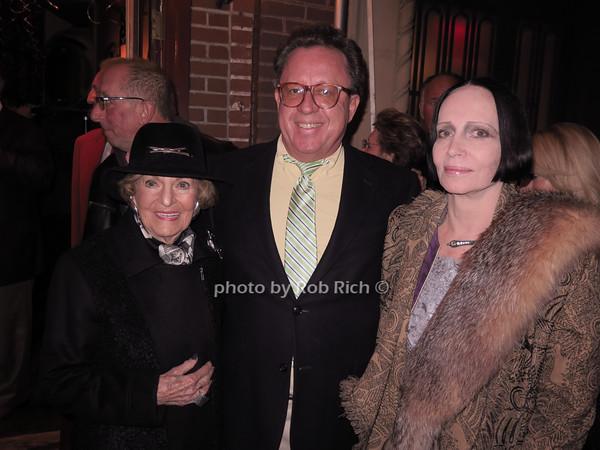 Sherry von Korber-Bernstein, Gregory Speck, Mary McFadden photo by Rob Rich/SocietyAllure.com © 2014 robwayne1@aol.com 516-676-3939
