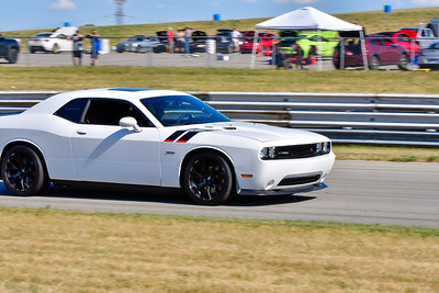 2020 SCCA TNiA July 29th Pitt Race White Dodge Challenger
