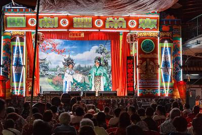 the Chinese Opera Troupe - Bangkok