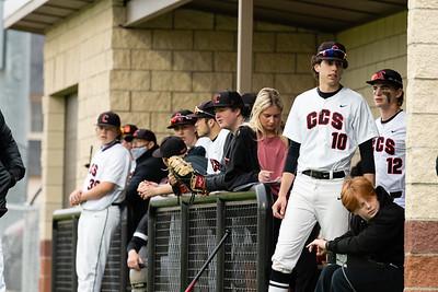 CCS Baseball Senior Night 2021