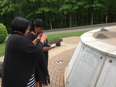 5/24/13 Davis Daughters at the CT Firefighters Memorial