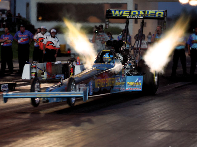 Top Fuel Exhaust flame