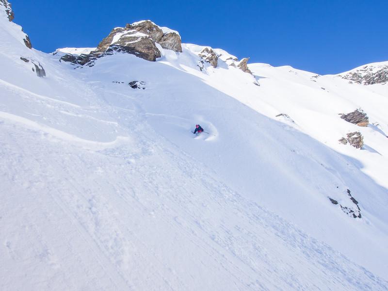 skitouring and freeride around Arlberg