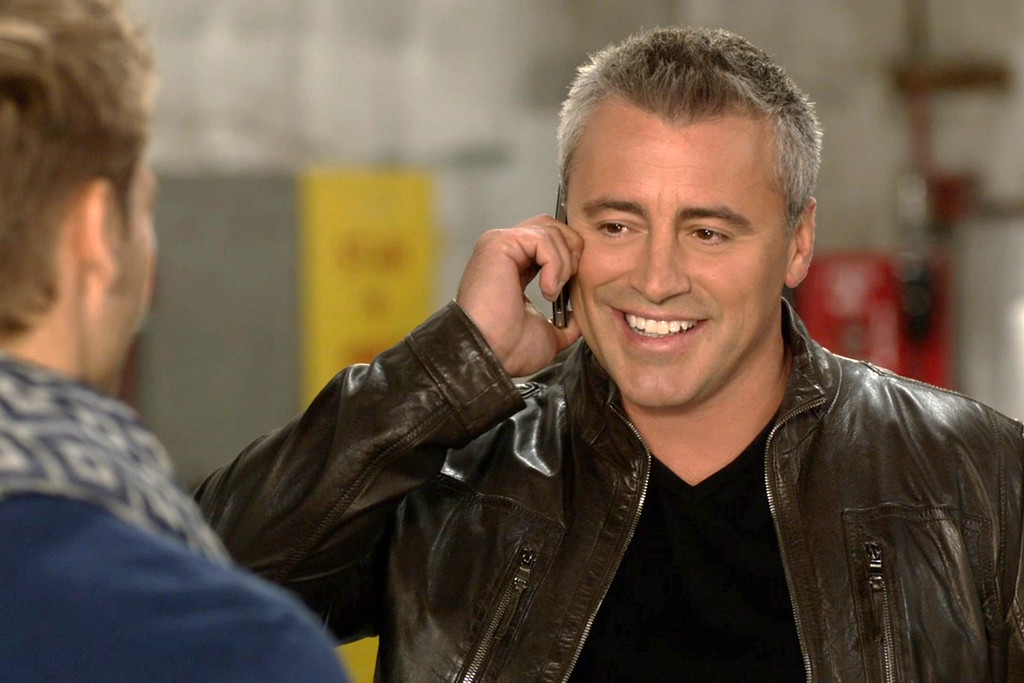 """. This image released by Showtime shows Matt LeBlanc in a scene from \""""Episodes.\"""" LeBlanc was nominated for an Emmy Award for best actor in a comedy on Thursday, July 10, 2014. The 66th Primetime Emmy Awards will be presented Aug. 25 at the Nokia Theatre in Los Angeles. (AP Photo/Showtime)"""